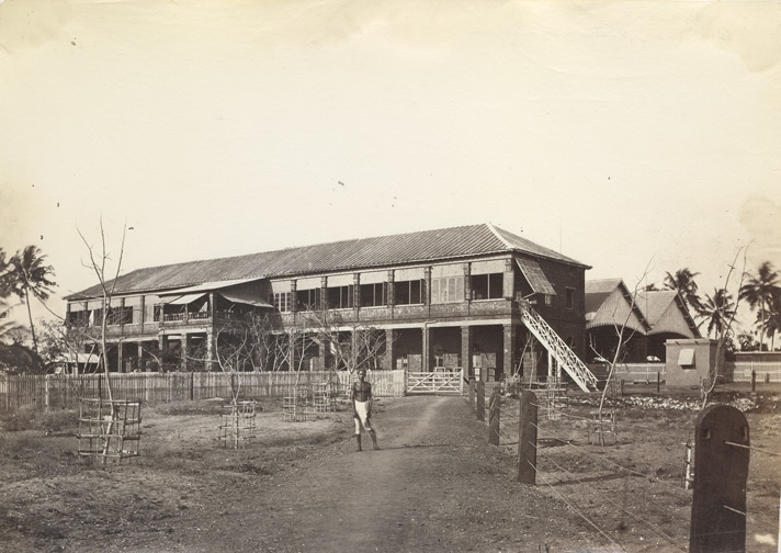 [Railway Station at Beypore.]